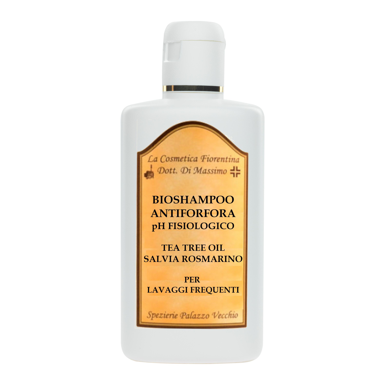 BIOSHAMPOO TEA TREE OIL SAGE - DUNDRUFF-0