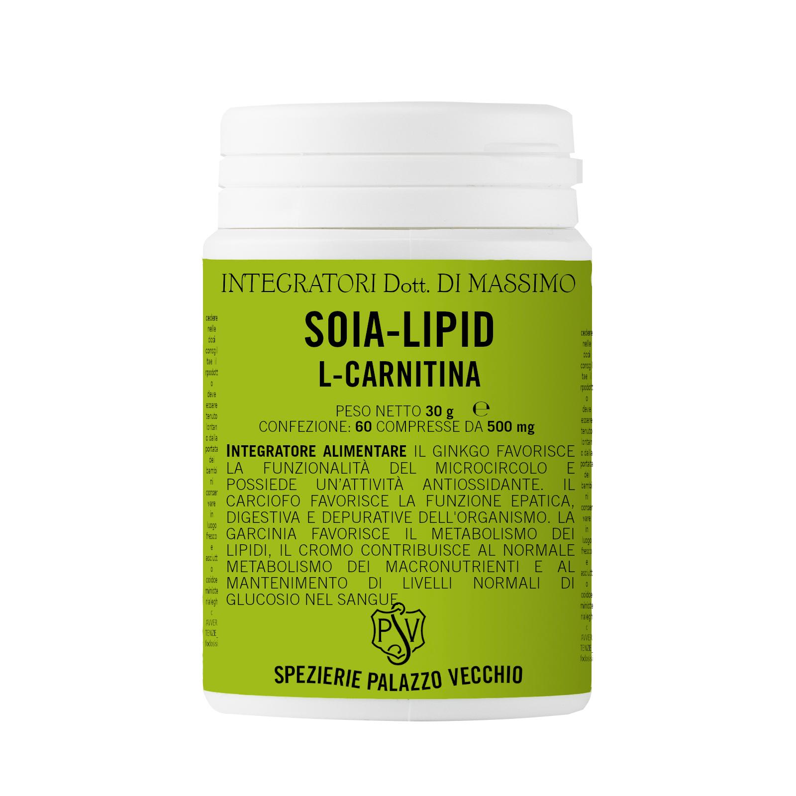 SOIA LIPID CARNITINA-0